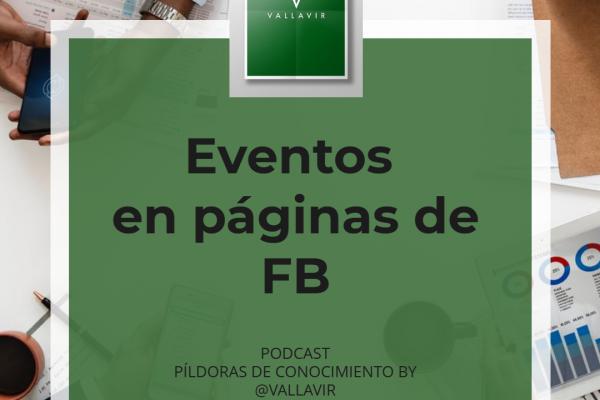Eventos en páginas de Facebook