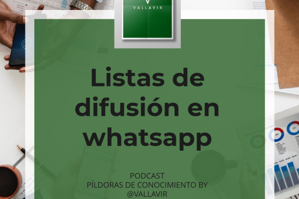 Listas de difusión con whatsapp